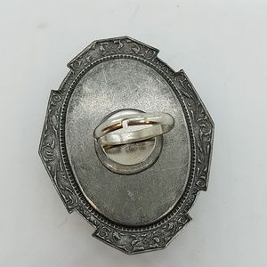 GASOLINE GLAMOUR Jewelry - Rhinestone xl rectangle cocktail ring sample